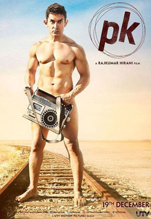 Aamir Khan's 'PK' poster revealed