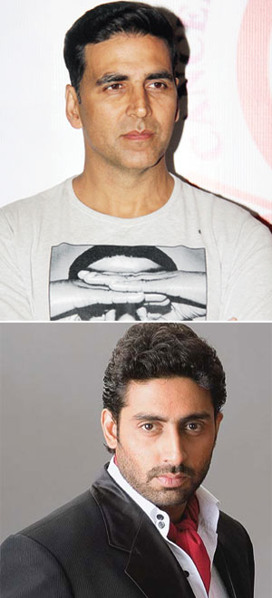 Akshay Kumar and Abhishek Bachchan to co-star in