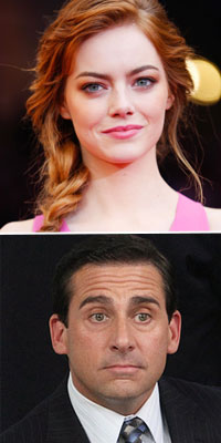 Steve Carell & Emma Stone to star as tennis aces