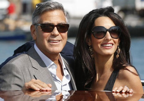 Mr and Mrs Clooney opt for an English honeymoon