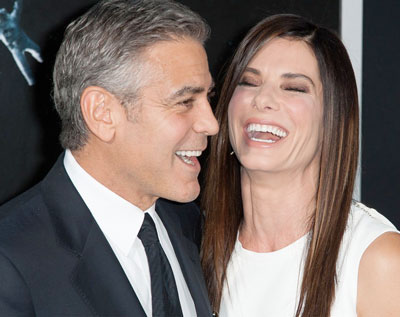 Sandra is the boss on sets, says Clooney