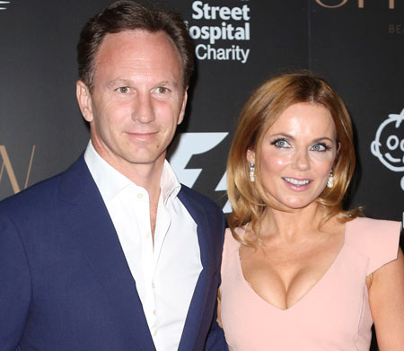Geri Halliwell marries F1's Christian Horner