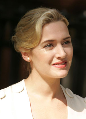 Kate Winslet is exhausted. Find out why.