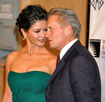 Michael Douglas hopeful of working things out